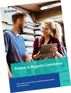 Download Perfion & Magento Commerce integration fact sheet