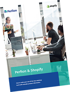 Download Perfion & Shopify integration fact sheet