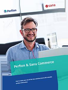 Download het informatieblad over de integratie van Perfion en Sana Commerce